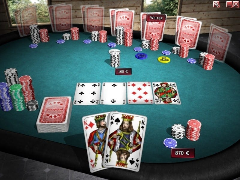 real texas holdem poker online
