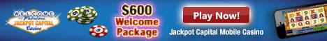 Jackpot Capital US Mobile banner