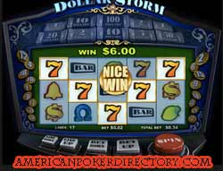 DOLLAR STORM WinADay Slot Machine