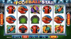 Football American Soccer Star Microgaming Slot Machine
