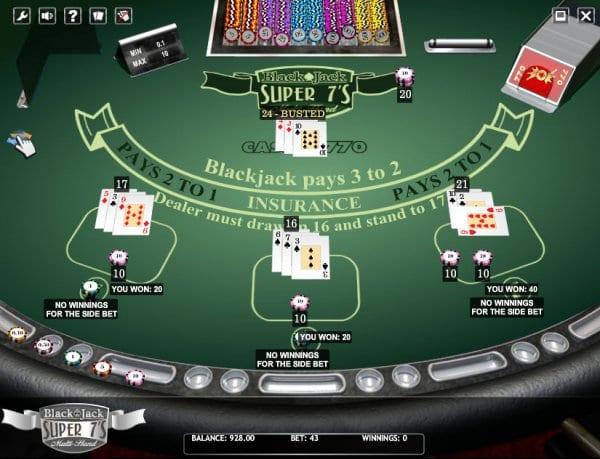 Blackjack running count vs true count